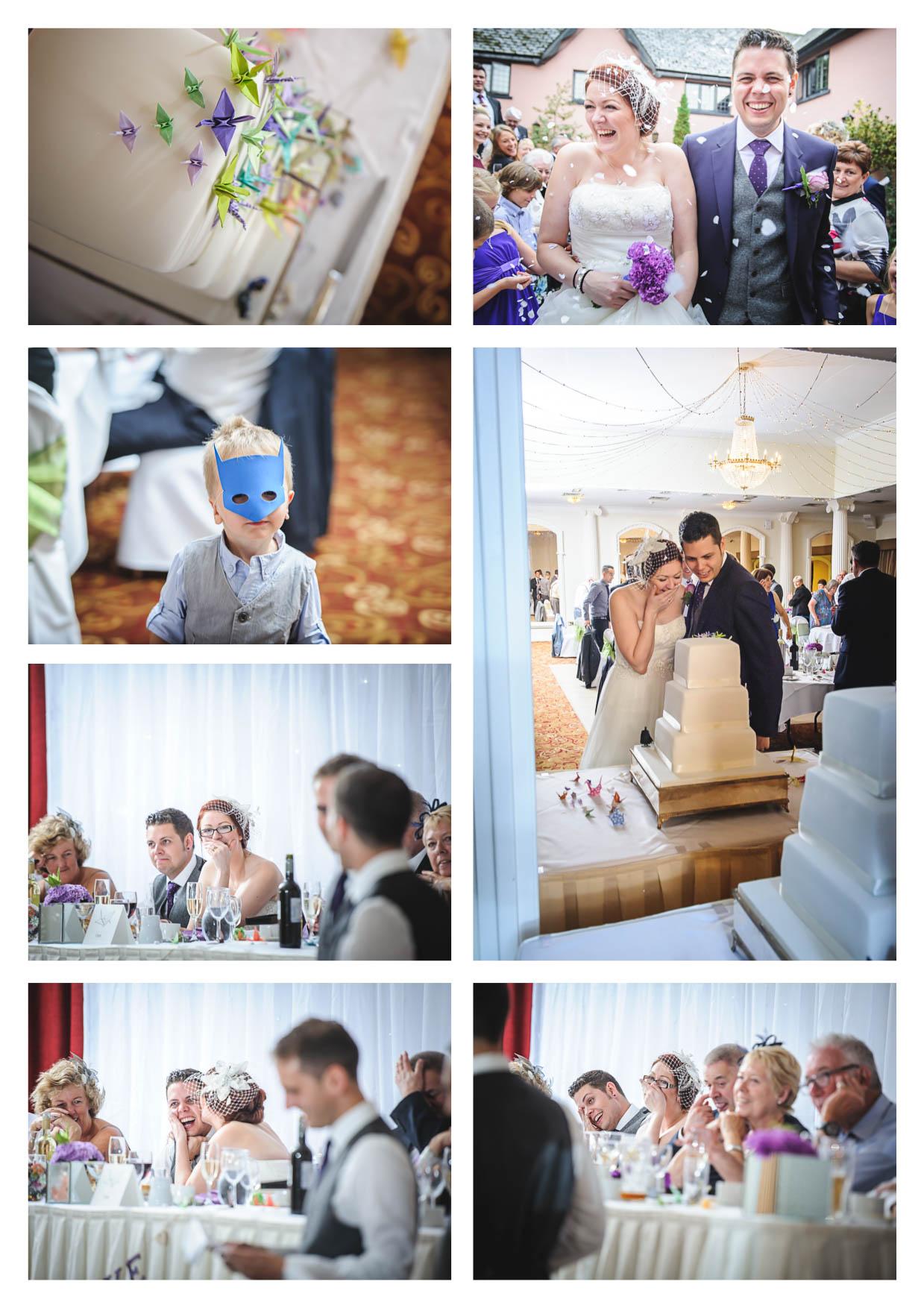 Photos from a wedding at cwrt Belddyn by Owen Mathias Photography cardiff