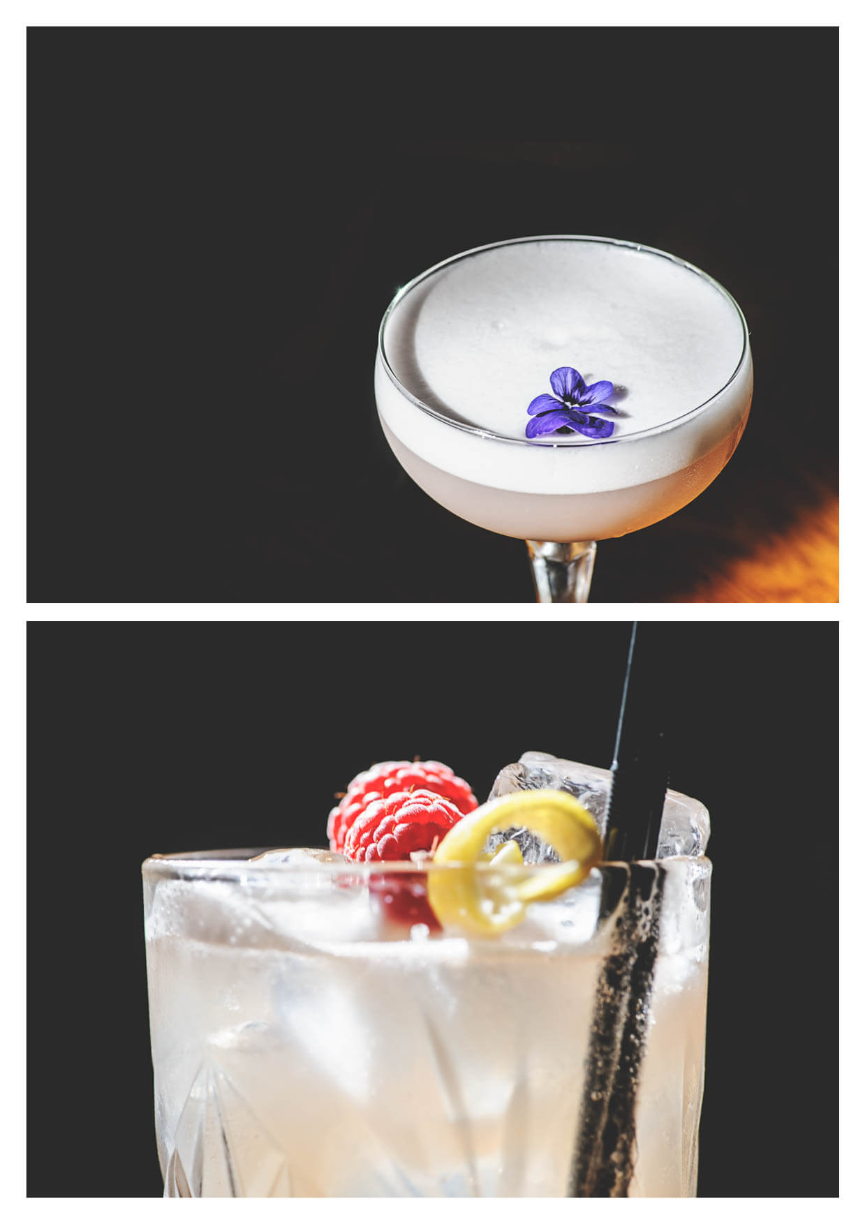 Photos of cocktails by Cardiff Food Photographers 1