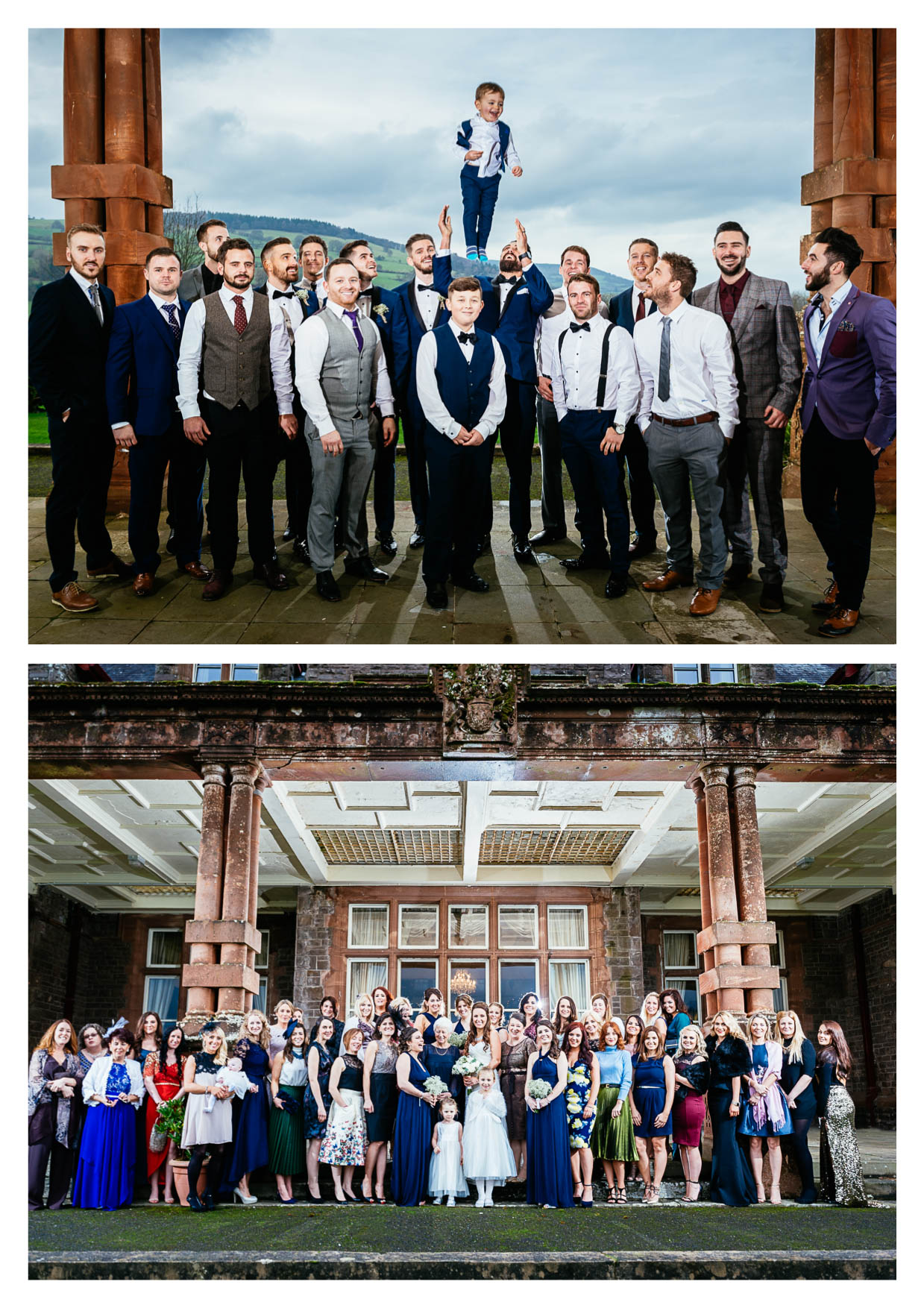 Buckland Hall Wedding Photographers Cardiff Brecon Wales