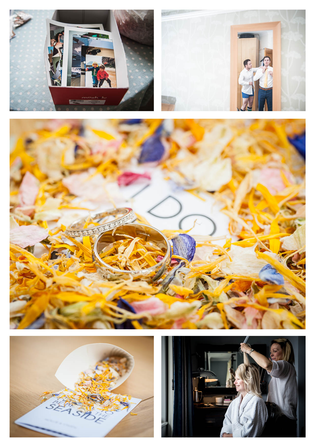 Photos by Cardiff Wedding Photographers at Penarth Pier Pavilion
