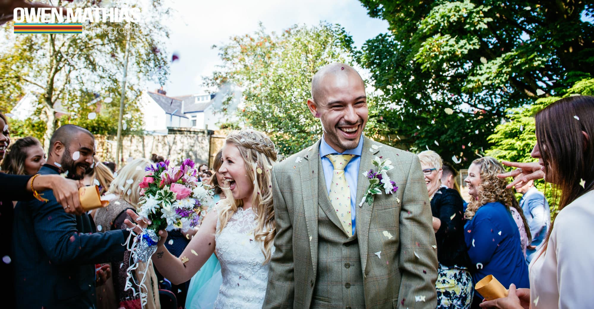 Jade & Luke - Alternative Humanist Village Hall Wedding - Photography Cardiff Dinas Powys