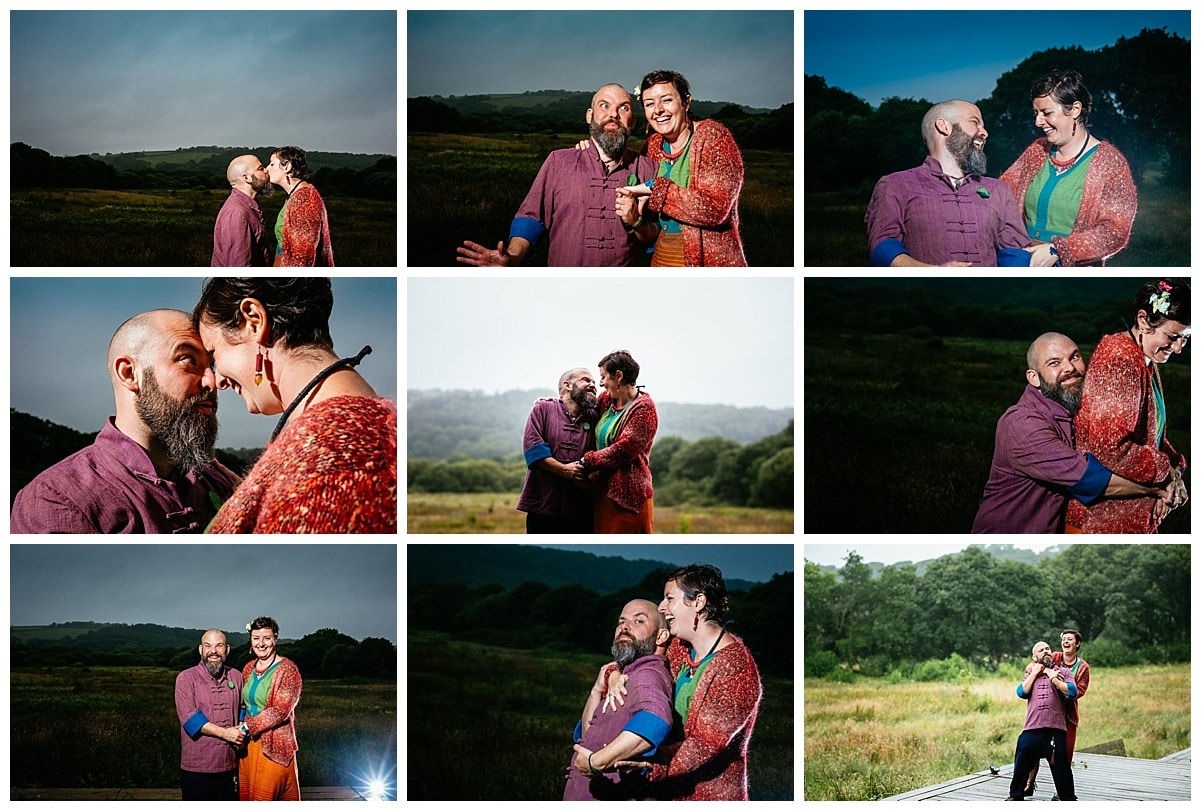 Alternative Humanist Wedding at Fforest Pembrokeshire, Wales