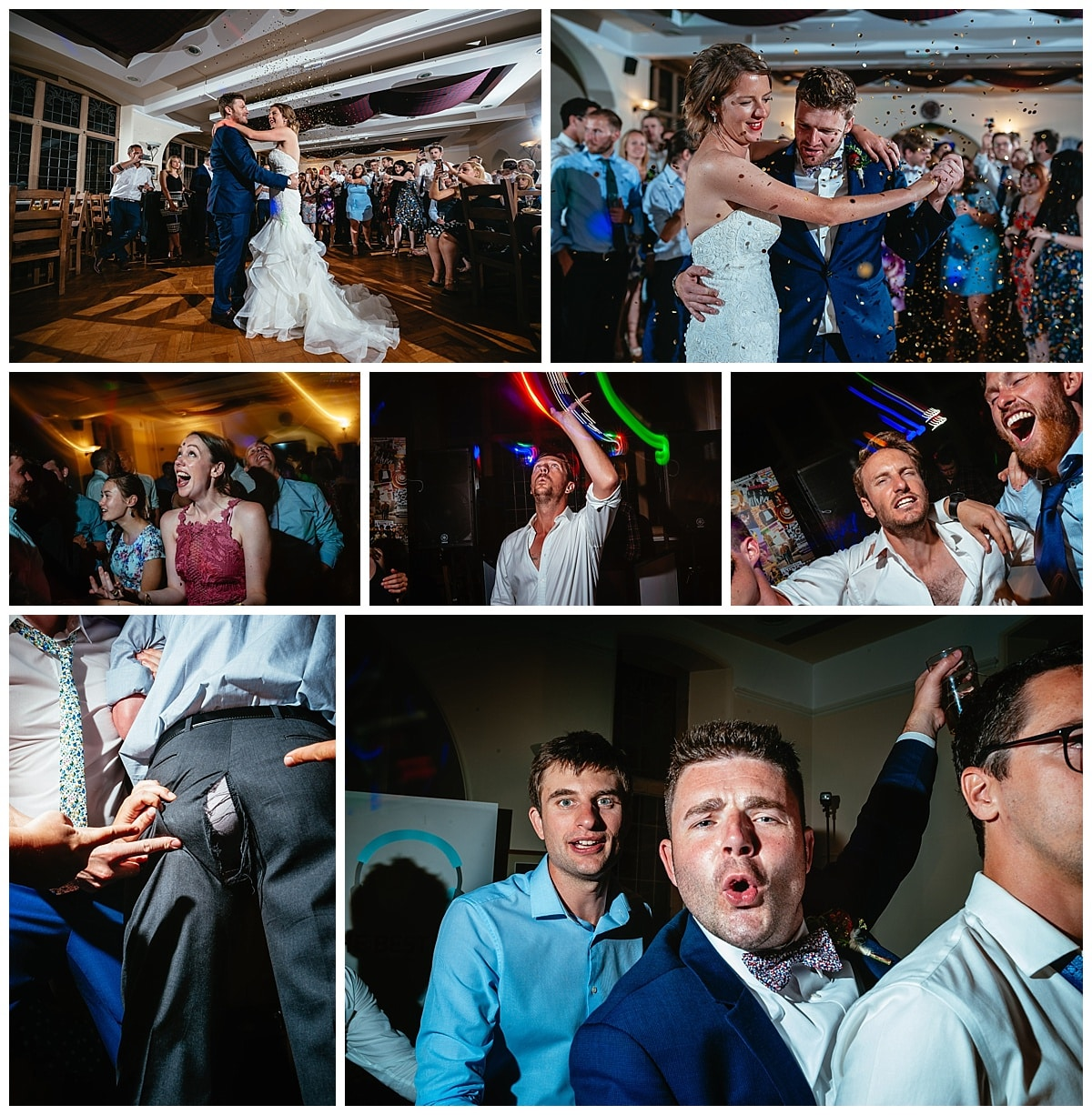 Alternative Wedding Photography - Harriet & Joe - Derbyshire Fun Wedding
