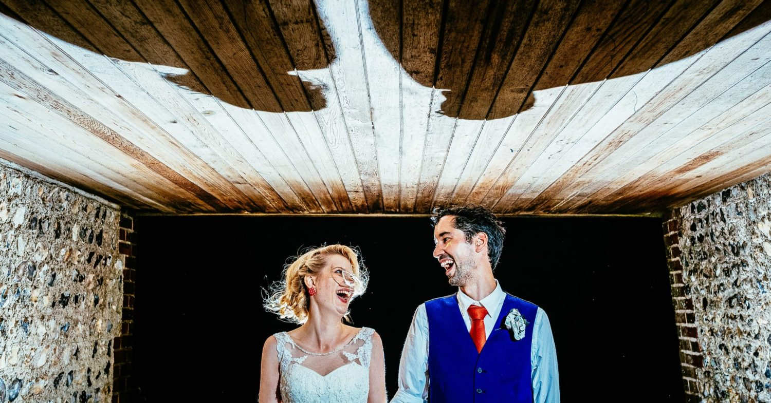 Colourful alternative sussex brighton wedding
