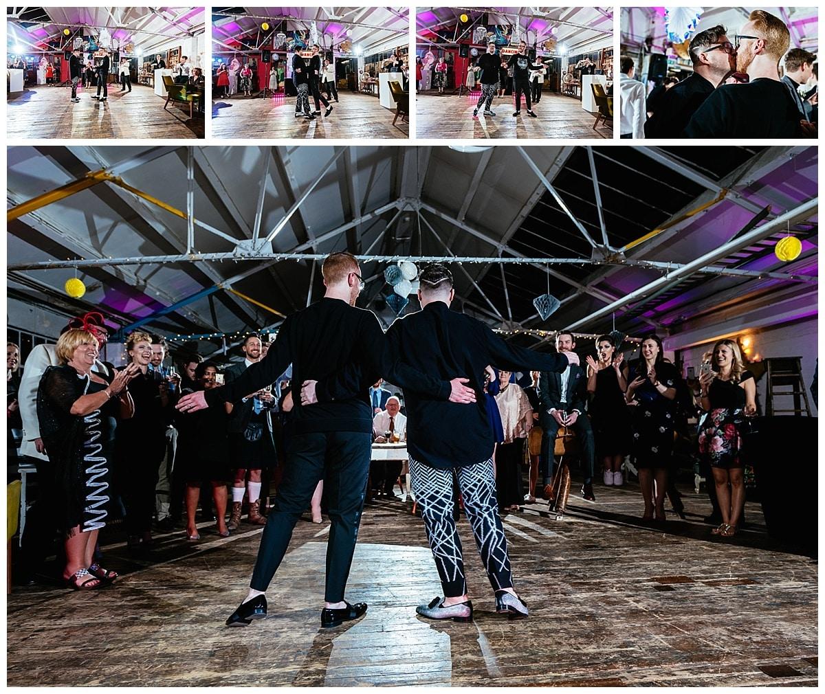 Michael James London Warehouse Hay Wedding 085-NIKON D810 14 mm 1-125 sec at f - 4.0 ISO 400 04 Mar 1855 (923)__Alternative Wedding Photographers London Gay Samesex Colourful.jpg
