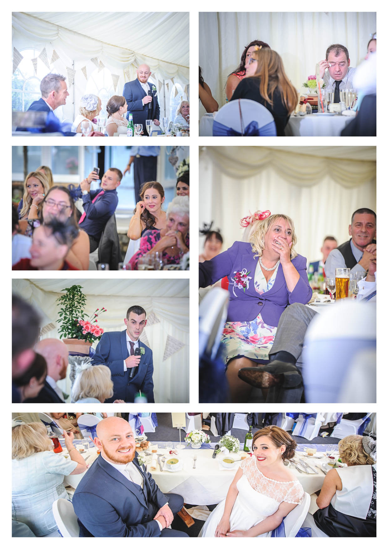 Speeches by Penarth Wedding Photographers  at Manor House Hotel
