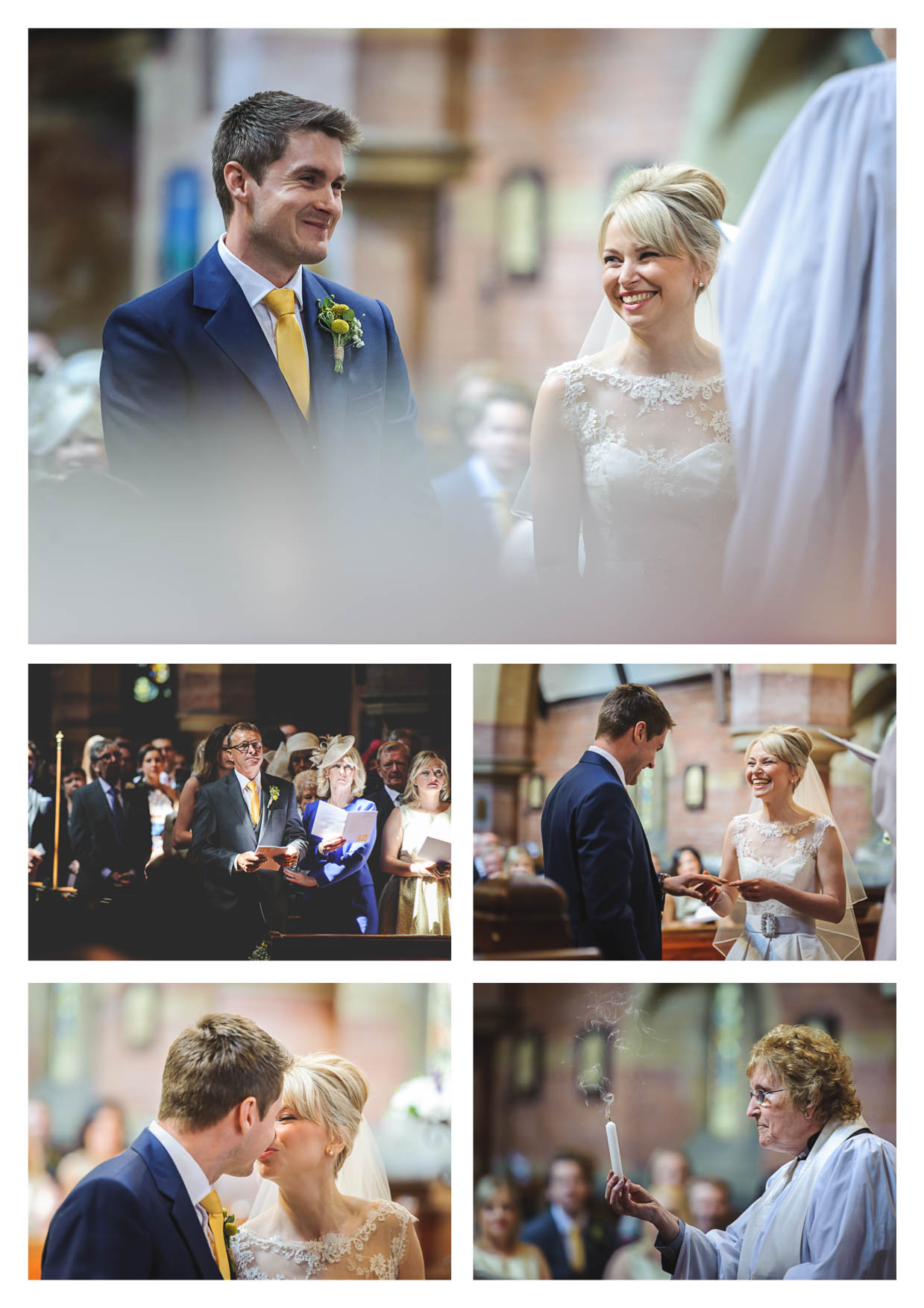 Photos of a wedding at Penarth Pier Pavilion by Cardiff Wedding Photographers