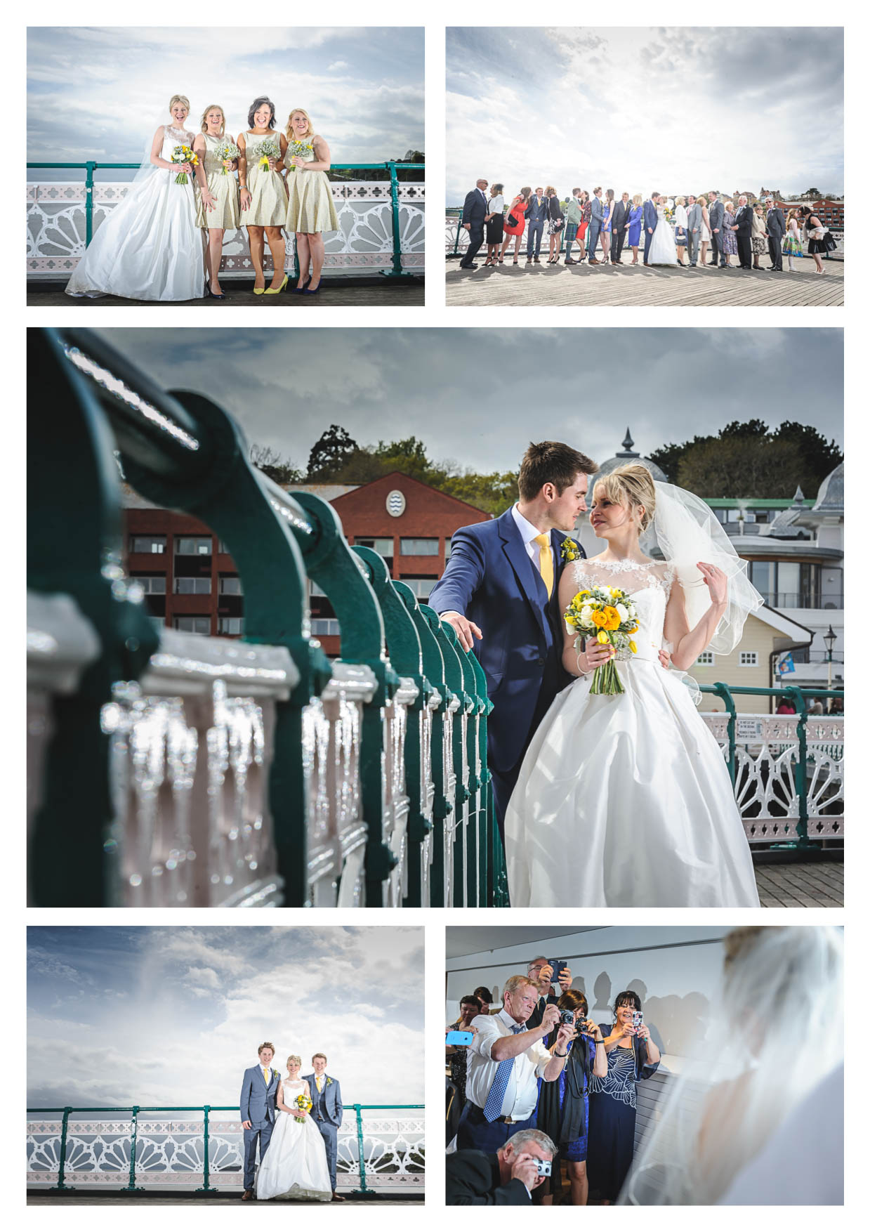 Penarth Pier Pavilion Photos by Cardiff Wedding Photographers