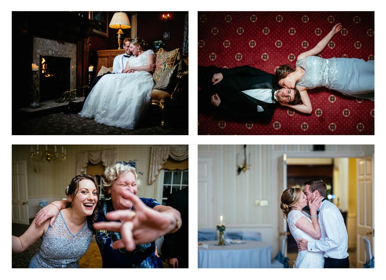 Photos of a wedding at Decourceys
