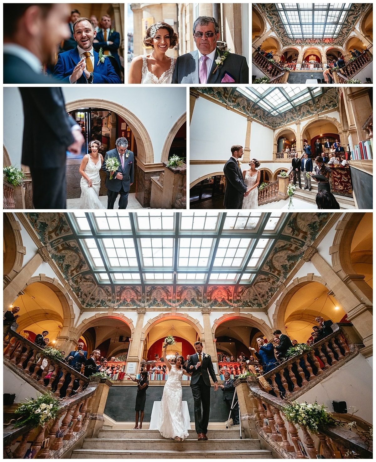 Alternative Wedding Photographers London Battersea Arts Centre