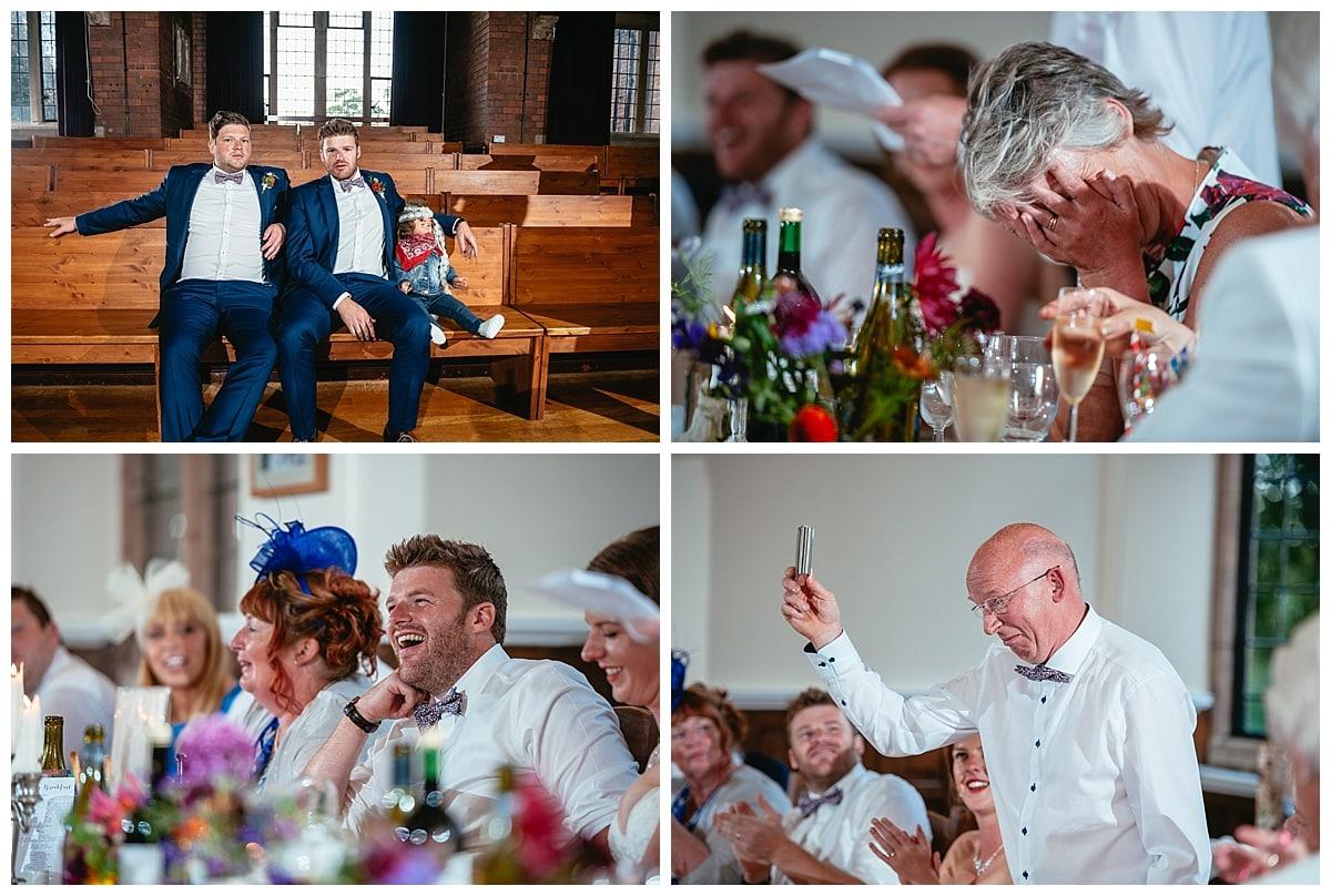 Alternative Wedding Photography - Harriet & Joe - Derbyshire Fun Wedding