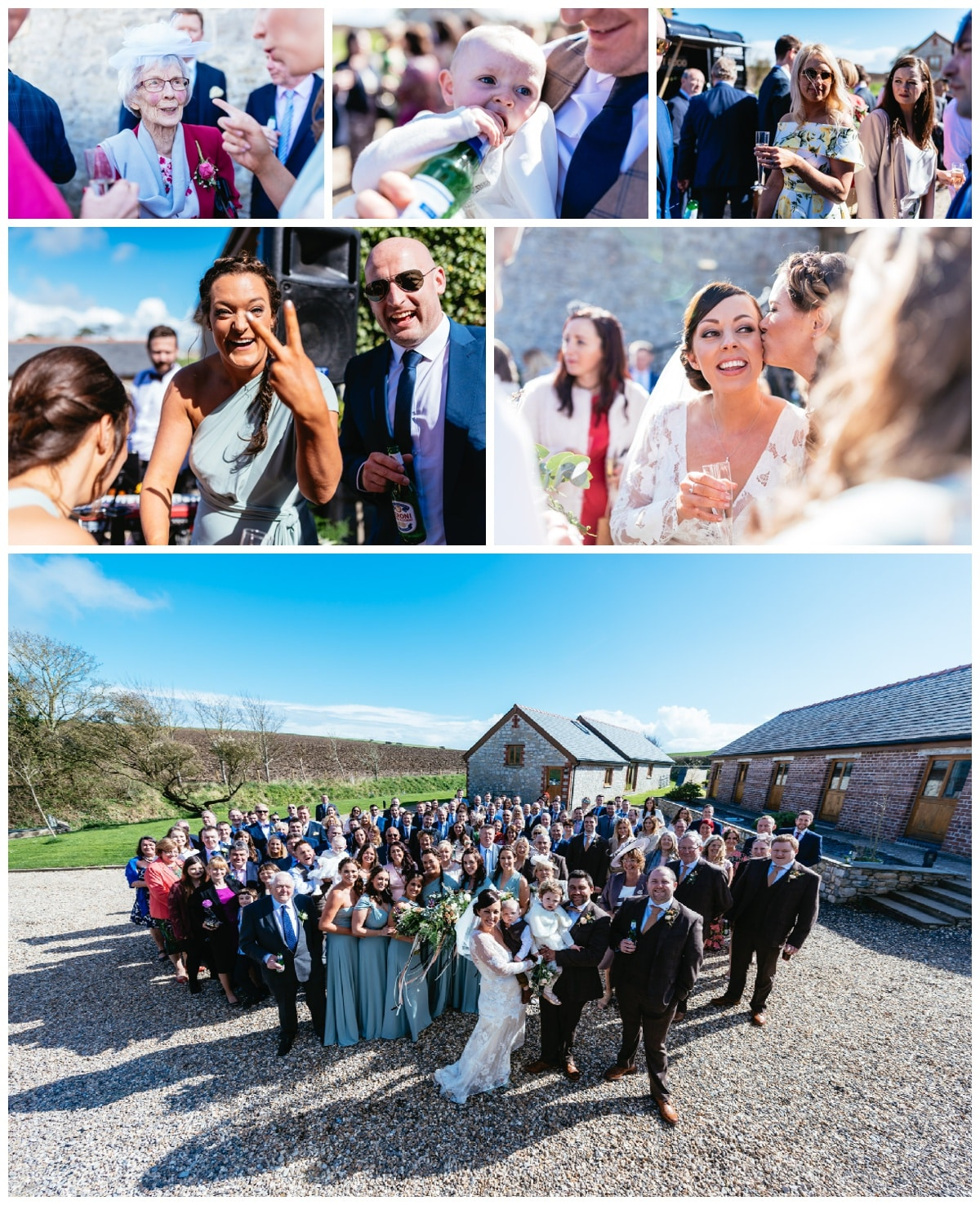 Rosedew Farm Wedding Photographers Barn Wedding Wales