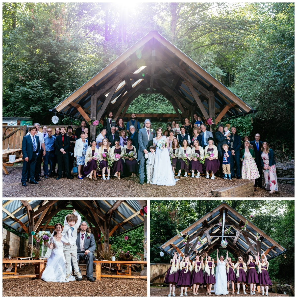 Arnos Vale, Bristol Photography Outdoor Gothic Wedding