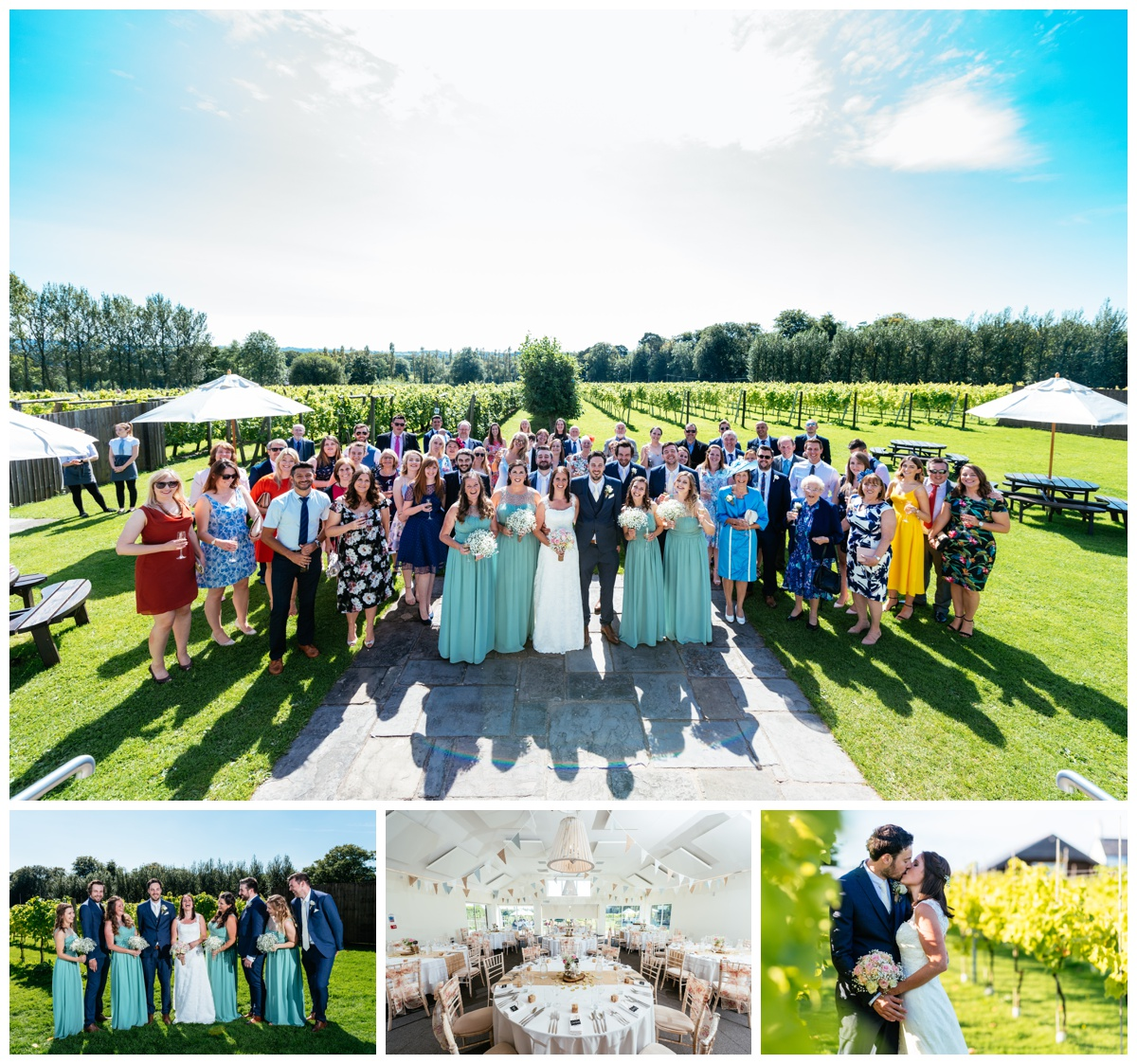 Llanerch Vineyard Weddings Photography by Owen Mathias
