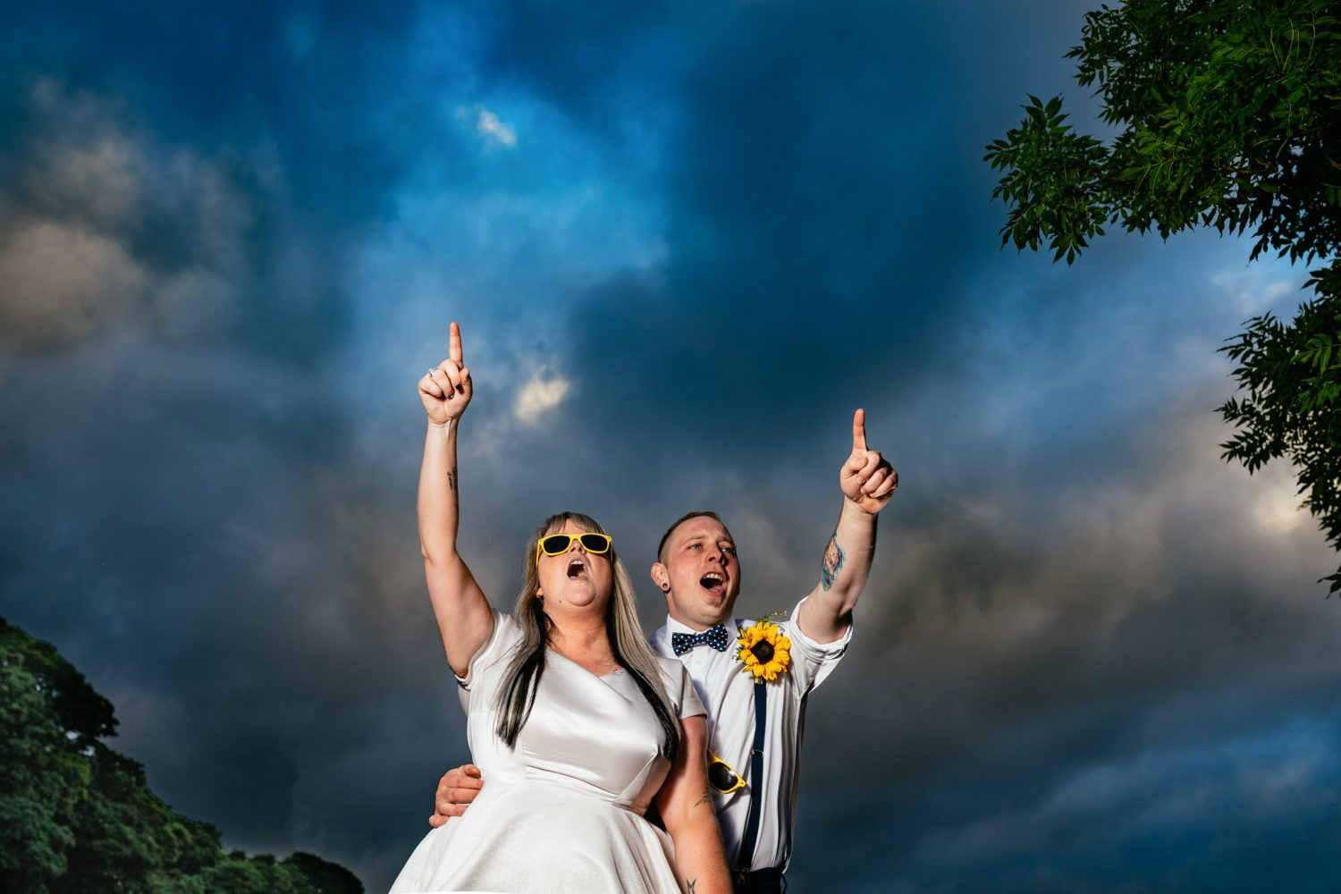 South Wales Alternative Wedding Photographers