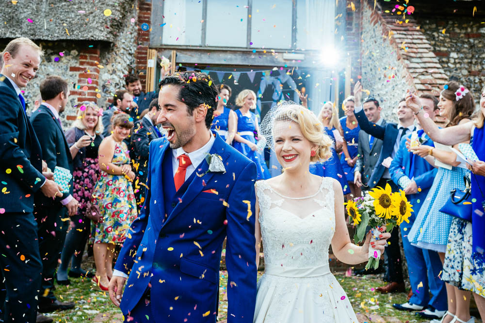 Colourful Cardiff Wedding Photographers