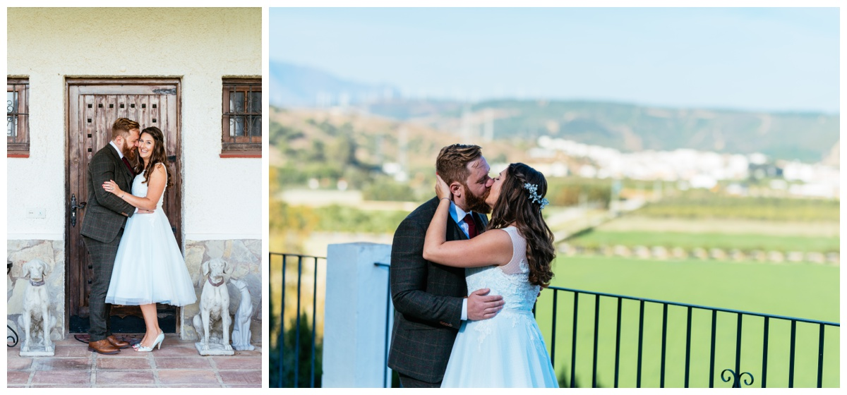South Wales Wedding Photographer in Spain