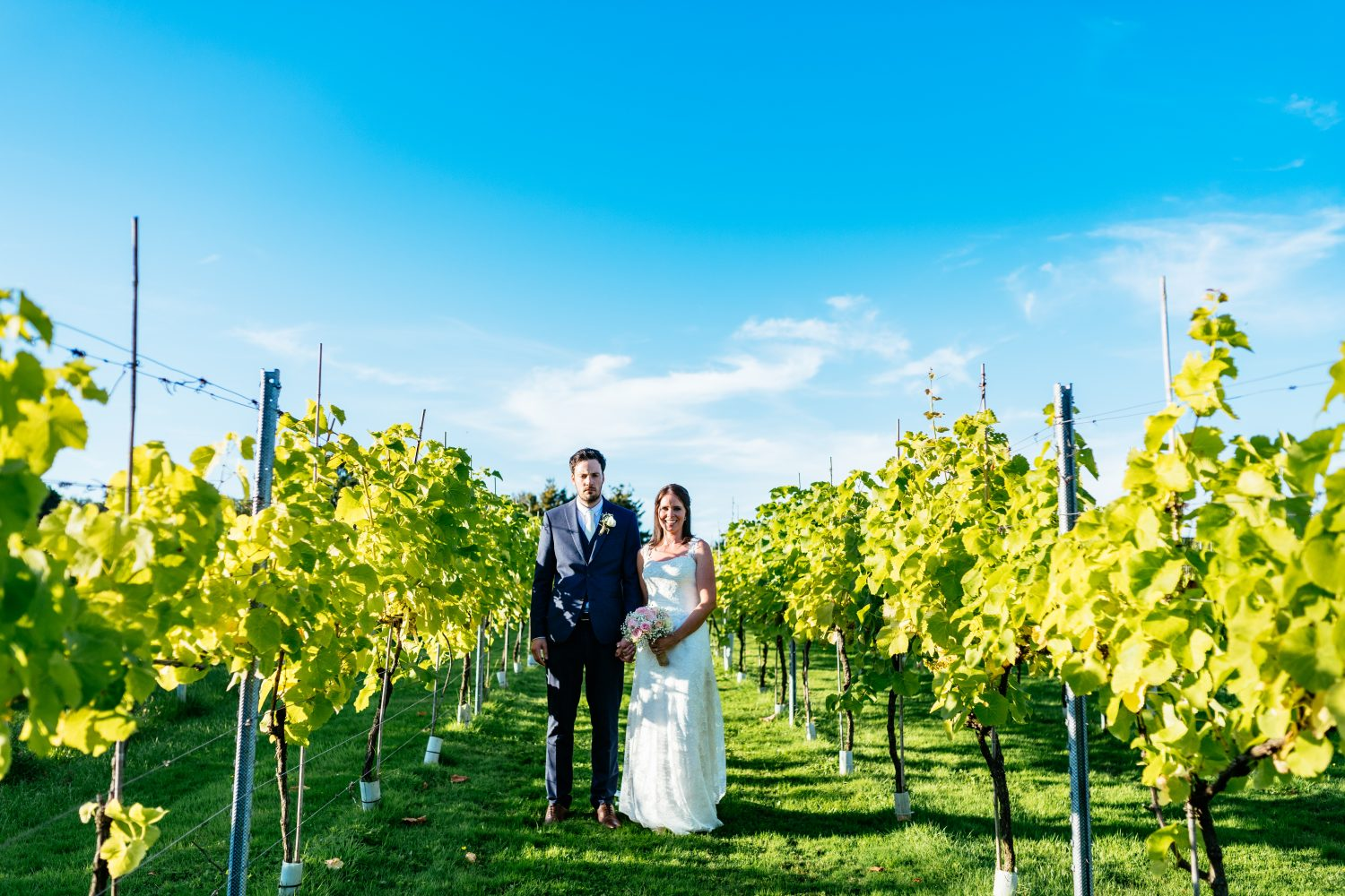 It's hard to not have epic photos from your wedding at Llanerch Vineyard